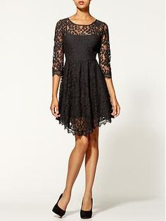 Tamara's black lace dress on Awkward Fashion News, Fashion Outfits, Fashion Trends, Fashion Inspiration, Women's Fashion, Lace Dress Black, Couture, Dress Me Up, Dress To Impress