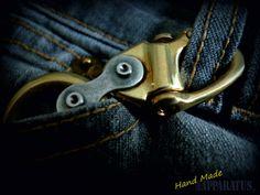 Brass Key Ring-3 por EdcApparatus en Etsy