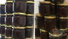Domácí pečená povidla -4 kgvypeckované švestky 500 gtřtinový cukr (i obyčejný může být) 350 mlocet kokosový olej Plum Recipes, Food And Drink, Nail Polish, Fruit, Cooking, How To Make, Hana, Summer, Syrup