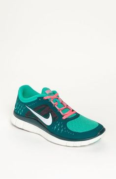 Be comfortable & chic while running in these #Nike 'Free Run' sneakers in Atomic green $100, get it here: http://rstyle.me/~be08 www.cheapshoeshub#com  nike free black, nike free 6.0