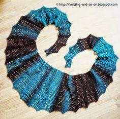 Free Knitting Pattern: Seifenblasen Lace Scarf