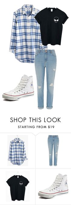 """""""September 15"""" by megaspirit on Polyvore featuring Madewell, River Island and Converse"""