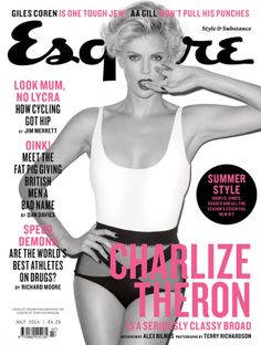 Charlize Theron Covers Esquire UK