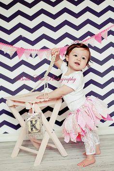 Baby Girl 1st Birthday Outfit...1st Birthday Tutu...Shabby Chic Tutu...Headband Tutu Set...Toddler Tutu  shabby chic tutu, fun switch from tulle!
