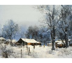 Fall in love in Snow Village - Chien Chung Wei