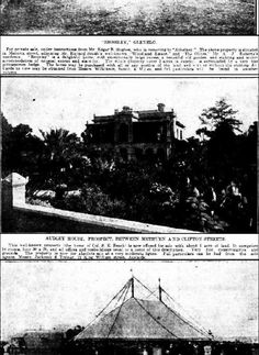 The Mail (Adelaide, SA : 1912 - 1954), Saturday 6 October 1917, page 8, Audley House, Prospect Road, Prospect