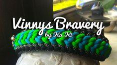 Vinnys Bravery | Swiss Paracord Paracord Projects, Paracord Ideas, Paracord Tutorial, Swiss Paracord, Belly Bars, Beaded Skull, Paracord Bracelets, Just Do It, Crochet Hats