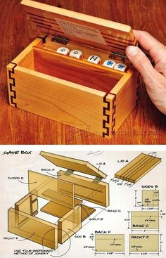 Game Box Plans - Woodworking Plans and Projects | WoodArchivist.com