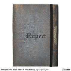Rampart Old Book Style V Pro Monogram