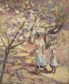 Theodore Robinson, Oil On Canvas, Artsy, Blossoms, Muse, Artwork, Painting, Instagram, Impressionism