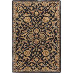 Surya Hand-Tufted Blyth Floral Wool Rug (6' x 9') (