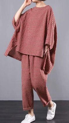 Mode Outfits, Fashion Outfits, Womens Fashion, Kids Fashion Boy, Dress Outfits, Linen Fabric, Cotton Linen, Bluse Outfit, Diy Shirt