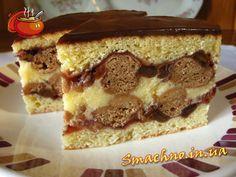 """Торт """"Рушта"""" - Рецепт приготовления с пошаговыми фотографиями."""