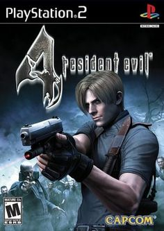 Playstation 2. PS2. Resident Evil 4.