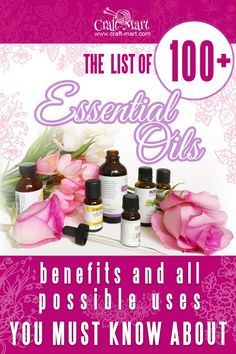 The most comprehensive Essential oils guide with a list of 100+ oils.  Part 1: Essential oils uses and their benefits list. How do Essential Oils Work? Find out by reading this Essential oils guide with more than 300 links to resources. Part 2: The list of essential oils uses and how to mix essential oils with the best carrier oils. Part 3: The best essential oils combinations plus top essential oils companies and brands ranked by their prices and quality. #essentialoils #skincare #wellness