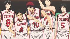 Kuroko no Basket | The way Seirin shows love lol