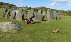 Interspecies rolling event at Drombeg Stone Circle #cork #ireland #dogs