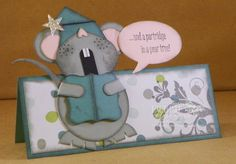 Debbie's Designs: Merry Monday #143! This cute card would be easy to create with her directions.