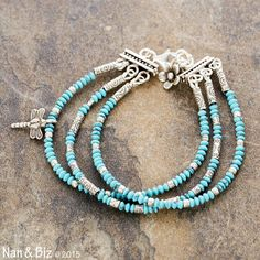 Hey, I found this really awesome Etsy listing at https://www.etsy.com/listing/247994077/turquoise-bracelet-multi-strand-3mm