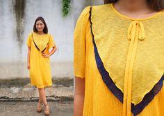 Vintage Dress, 1980s Dress, Vintage Japanese Dress, Vintage Womens Dress, Summer Dress,  80s Dress, Large Dress by hisandhervintage on Etsy