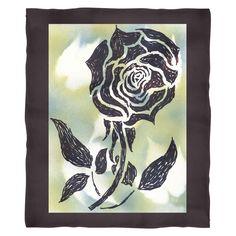 #5 American Beauty Rose Fleece Blanket