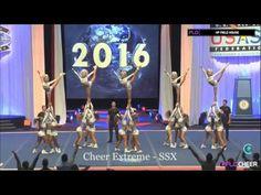 Cheer extreme SSX worlds 2016