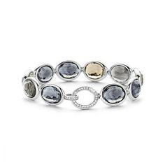 Armband Ti Sento Blue Grey 2857BG