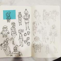 #people #art #doodles by bearmanbeast