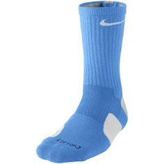 Check out this product DRI-FIT ELITE BASKETBALL CREW SOCKS - LARGE With extra cushioning in areas of the foot more susceptible to impact and injury, the Nike Dri-FIT Elite Basketball Crew Socks (Large/1 Pair) deliver unrivaled support and sweat-wicking power for all-day comfort on the court..