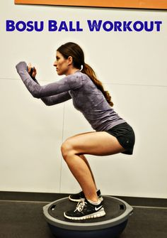 The Shine Project: Fit Friday- Bosu Ball Workout...*BOSU does not recommend standing on the bottom/flat part of the BOSU.