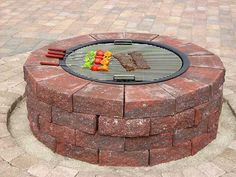 DIY Brick Fire Pit | 27 Hottest Fire Pit Ideas and Designs