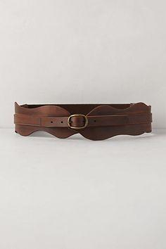 Waverly Leather Corset Belt - anthropologie.com