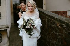 Bardot by Jenny Packham for a 1920's Gatsby Glamour Inspired New Years Eve Wedding
