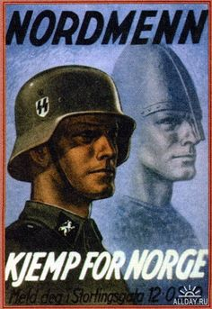 Norwegian pro-Nazi/SS poster - Imgur