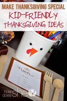 Kid Friendly Thanksgiving Ideas  #howdoesshe #kidthanksgivingideas #thanksgiving howdoesshe.com