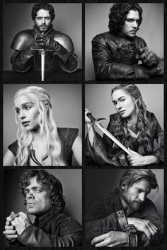 Game Of Thrones Season 3 Portraits.