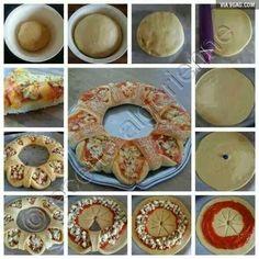 beautiful pizza concept