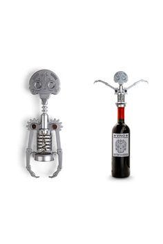 Day Of The Dead Skeleton Corkscrew -