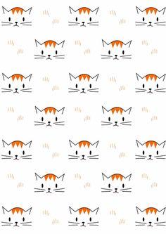 FREE printable cat pattern paper | meinlilapark