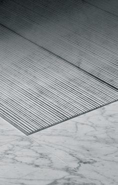 Very nice detailing to this shower tray. Salvatori | Filo.  www.methodstudio.london