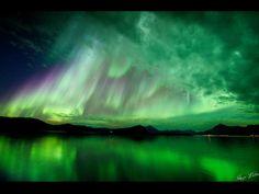 Hugo Løhre photographed the auroras over Lekangsund, Norway, on Oct. 10, 2012.