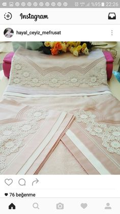Crochet Borders, Linen Bedding, Embroidery Designs, Upholstery, Weaving, Bed Sets, Baby Room Girls, Little Girls, Bedrooms