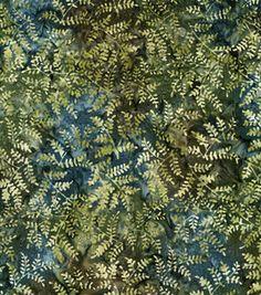 Legacy Studio Indonesian Batik-Branches Moss
