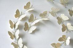 Quadro com Borboletas de Papel - Ideias de Decoração                                                                                                                                                                                 Mais