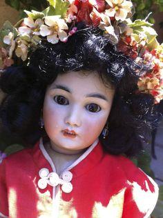 RARE Simon & Halbig Asian Japanese Antique Doll!!!