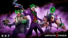First Look At Two New Infinite Crisis Champions - IGN