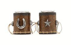 Star and Horseshoe Votive Set