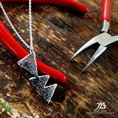 Depeche Mode Delta Machine sterling silver by LittleTreasuresByMir