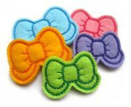 GG Designs Embroidery - Bow Clip Cover FELT STITCHIES (in the hoop) (Powered by CubeCart)