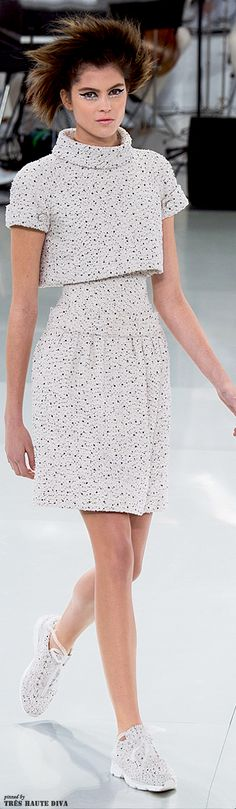 Chanel Spring 2014 Couture http://www.vogue.com/fashion-week/